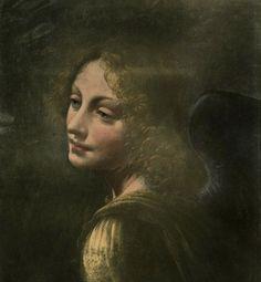Head of an Angel by Leonardo Da Vinci