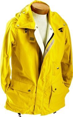Contrast Yellow Travel Jacket, and made in the USA, too!