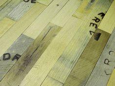 reclaimed whisky barrel flooring