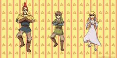 HAHA!! I love link's expression the best!! It's a gif so you have to click on it.  Oppan Skyward Style by *Zellie669 on deviantART