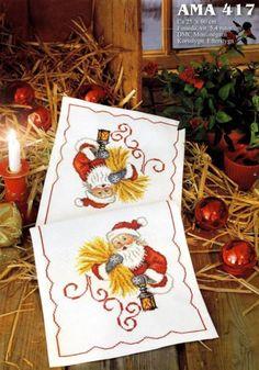 Babbo Natale con spighe 1