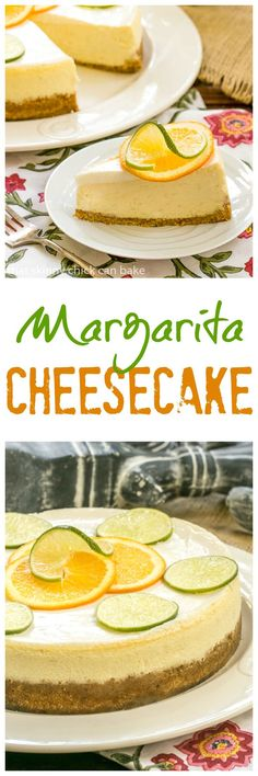 Margarita Cheesecake   An exquisite citrus cheesecake with the flavors of a margarita! @lizzydo