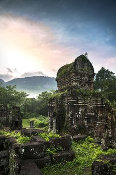 My Son Temple: Vietnam's Hidden Ruins. : My Son Temple: Vietnam's Hidden Ruins. Vietnam Voyage, Vietnam Travel, Asia Travel, Visit Vietnam, Vietnam Tours, Places To Travel, Places To See, Travel Destinations, Vacation Travel