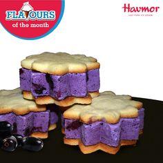 Engulf the vivid taste of Fresh Jamun in a crunchy Ice cream sandwich & #KeepCalmAndHavmor