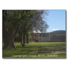 Greetings from Cooma, NSW, Australia Postcard