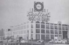 Sealtest clock - St. Louis, Missouri, 1957