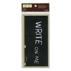 Buy the Chalkboard Dimensional Sticker by Recollections™ Signature™ at Michaels