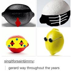 Gerard way: putting the emo in lemon