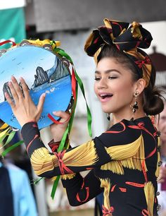 What happens when Zendaya and Dolce & Gabbana rendezvous in Capri? Two elevated headscarf moments.
