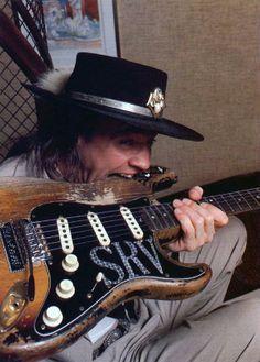 "STEVIE RAY VAUGHAN ""They Call Me Guitar Hurricane""  Incredible guitar player ! RIP"