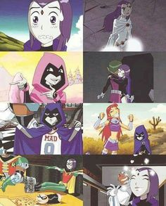 O simt, cred în ea : bbraegun: Rae rae. Old Teen Titans, Original Teen Titans, Robin, Marvel Vs, Marvel Dc Comics, Sailor Moon Wedding, Raven Beast Boy, Dc Memes, Safari
