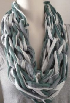 Womens Cowl Green Cowl Knit Cowl Arm Knit Cowl  by Maxiesknitwear, $25.00