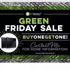 BOGO Wraps!!  931-241-1934 www.itworkswithjesus.com