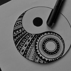 Life is a balancing act and most fulfilling when we learn to embrace its dualities , ups and downs , good times and bad times ....... . . . . . . . . #yinyang#blw #art#zentangle #artist#art_help#artbasel#sketch_daily #drawings#art_dailydose #arts_promote #mandala#arts_promoter#artporn #black #white#sketch_dailydose #zen #sketch#vscocam #patterns#instaart#vsco#artsy #pen#ink#create#doodle#art_viral#artistic_sharing