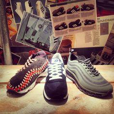 online store 53084 c7926 Nike Footscape Chukka, New Balance 990 and Nike Airmax 97