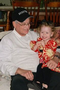 Here's a picture of my brother, also known as Papa Terry with his granddaughter Lucy, Andy and Sarah's oldest girl. Terry's been gone for 3 years today! Sometimes it seems like yesterday, but at other times, it seems like forever! He understood me better than most, and I find comfort in knowing that he is watching over all of us! I love you, and I miss you! But now, you can Rest in Peace!  ❤️ Trudi  11/14/15