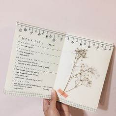 """eggystudy: """"{12.02.17} hey guys it's 1am & yeHHH i found some dried flowers to put into my journal!!! i've yet to press them and all but it's so pretty???? (⁎⁍̴̛ᴗ⁍̴̛⁎) oh yes and once again, border..."""