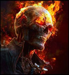 Ghost Rider, based on the concept by Dave Rapoza, modeled in ZBrush, rendered in KeyShot by Rodrigo Soria. Marvel Comics, Marvel Art, Marvel Heroes, Captain Marvel, Mcu Marvel, Ghost Rider Film, Ghost Rider Marvel, Ghost Rider Videos, Ghost Rider Wallpaper