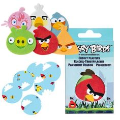 Plyšové náplasti Angry Birds | Ondálek