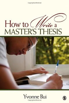 Tips on writing a thesis paper
