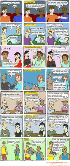These comics have nothing to do with sex, but explain consent beautifully.