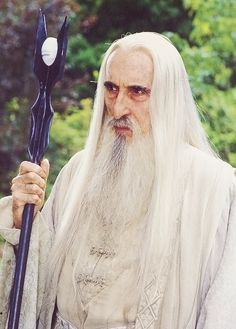 Saruman the White ( the highly awesome Christopher Lee) from Lord of the Rings.