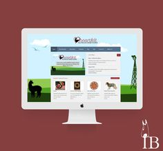 Heartfelt Alpaca Creations Web Design by Igniting Business #webdesign