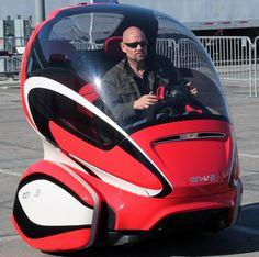 EN V electric networked car concept by GM begins pilot testing
