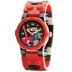 LEGO Star Wars Armbanduhr - Darth Vader  http://www.meinspielzeug24.de/lego-star-wars-armbanduhr-darth-vader  #Junge, #LEGOStarWars #Uhren/Wecker