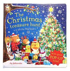 The Christmas Treasure Hunt: A pop-up book (Lift the Flap Book): Amazon.co.uk: Ag JATKOWSKA: 9780230768635: Books