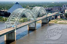 Mississippi Bridge at Memphis