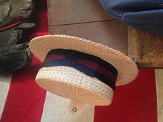 Vintage Hats are great to dress up or down your look for summer, this boater hat will have you looking dapper all summer long! Hats range from $15 to $75