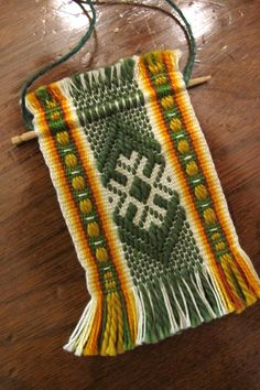 Inkle Weaving Designs | Daryl's Blog » Blog Archive » Competition…