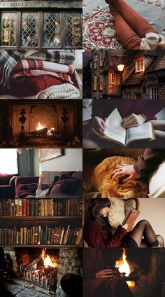 Ars Aesthetica — Cosy Gryffindor aesthetic