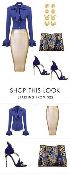 """""""Baddie"""" by slimster8343 on Polyvore featuring Christian Louboutin, Tory Burch and Jose & Maria Barrera"""