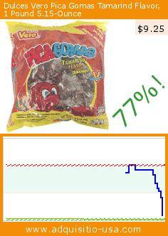 Dulces Vero Pica Gomas Tamarind Flavor, 1 Pound 5.15-Ounce (Grocery). Drop 77%! Current price $9.25, the previous price was $40.95. https://www.adquisitio-usa.com/vero-pica-gomas/tamarindotamarind