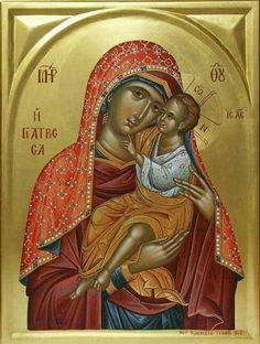 Aeiparthenos Theotokos. Byzantine Icons, Orthodox Icons, Madonna, Decoupage, Religion, Bible, Princess Zelda, Marvel, Faith