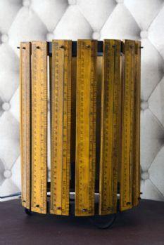 Vintage Ruler Table Lamp