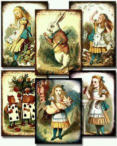 Alice desenhos originais
