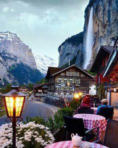 Hotel Jungfrau Lauterbrunnen in Switzerland by Senai Senna @sennarelax