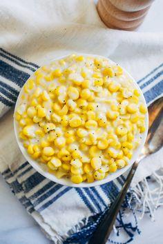 Vegan Creamed Corn - Making Thyme for Health