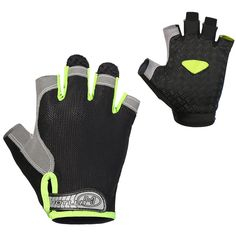 TESIN Cycling Gloves Mountain Bike Gloves Half Finger Road Racing Riding Gloves with Light Anti-slip Shock-absorbing Biking Gloves for Men and Women (Black, XL). Breathable antiskid cycling glovesStyle for Sports gloves,lightweight and breathable.moisture-wicking, breathable. Wrist:The sticky Velcro Buckle is applied to gloves. Never worry about any hand type. It is so easy adjust the tension according to your personal needs.It is most flexible to use your half Finger gloves in cycling…