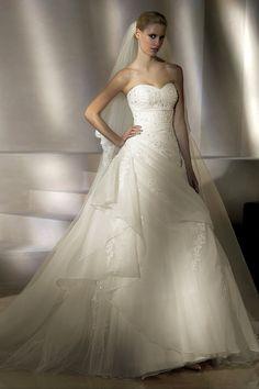 ¡Nuevo vestido publicado!  San Patrick mod. Paladium ¡por sólo $17125! ¡Ahorra un 37%!   http://www.weddalia.com/mx/tienda-vender-vestido-de-novia/san-patrick-mod-paladium/ #VestidosDeNovia vía www.weddalia.com/mx