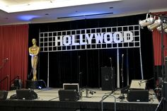 Hollywood Party The iconic white block letters as a garland -- stage purposes Teen Party Themes, Prom Themes, Movie Themes, Teen Parties, Hollywood Wedding, Hollywood Theme, Hooray For Hollywood, Dance Decorations, Dance Themes