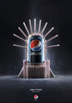 Clever Pepsi Advertising - See a collection of great Pepsi ads Pepsi Advertising, we have made a collection of some of the great and creative Pepsi Ads around. See some creative stuff here. - Ateriet.com - Food Culture.