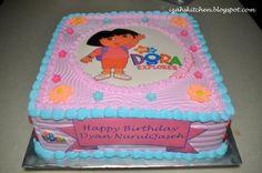 Image detail for -Izah's Kitchen: Dora The explorer cake for Nurulqaseh