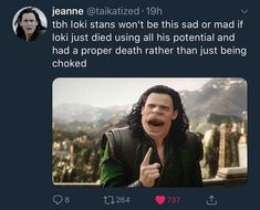 the first one is so trueee #loki #tomhiddleston #bringlokiback #chrishemsworh #thor #infinitywar #marvel #mcu #omgpage #avengersinfinitywar #avengers #lokideservesbetter credits go to original owners
