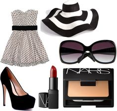 Black and White, created by freckles98 on Polyvore
