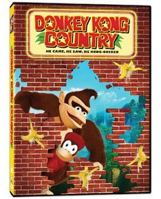 "Donkey Kong Country DVD - The release is timed to tie in with the ""Donkey Kong Country Returns""  3DS video game, and so instead of on-disc extras they are promoting the fact that there are ""games, activities and online shop available on the official website: http://donkeykong.nintendo.com/"""
