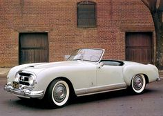 NASH-Healey Ser.II Roadster by Pinin Farina • 1954